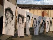 série orgasmique Diego Beyro, Argentine Peinture drap