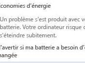 Problème batterie chargeur d'ordinateur portable