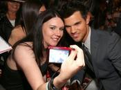 Taylor Lautner Avant-Première Breaking Dawn Part