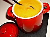 Velouté potiron fève tonka