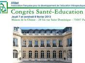 Congrès Santé Education 2013 AFDET