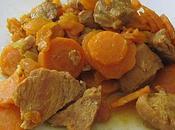 Tajine veau carottes