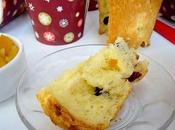 Panettone cranberries orange confite chocolat blanc