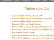 Vidéos l'enseignement Douglas Harding