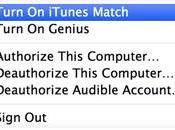 déjà l'heure renouveler abonnement iTunes Match