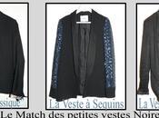 Mode petite veste Noire