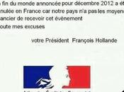 Sauvé François Hollande