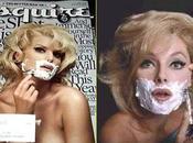 """Jessica Simpson rase comme homme pour """"Esquire"""""""