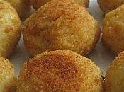 Arancini riso (boulettes Italiennes mozzarella)