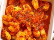 crevettes sauce tomate, facile rapide