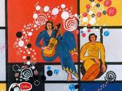 collage d'après Mondrian Matisse pour Docteur