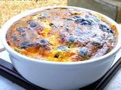 Clafoutis Chorizo olives