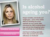 application simule effets l'alcool votre visage