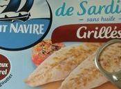 Tarte sardines grillées