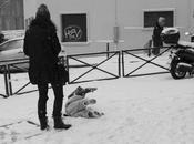 Paris sous neige
