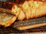 Cake pommes, poulet, chèvre farine pois chiche