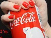 vernis ongles rouge Coca Cola