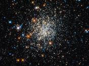 grappe jeunes étoiles photographiée Hubble