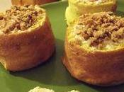Tambourins croustillants, poire, café crêpes dentelles