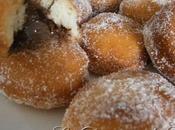 Mini beignets fourrées nutella nature