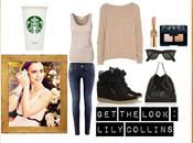 look Lily Collins