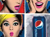 Beyoncé mode Andy Warhol pour Pepsi