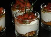 Sucré-Salé Fruits Séchés, Crème Chèvre Frais Tomates l'Estragon