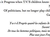 L'homme politique l'enfant