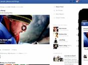 Facebook fait plus place contenus visuels adopte interface similaire toutes plateformes