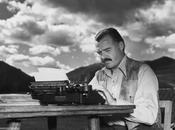 Dans bureau d'Ernest Hemingway