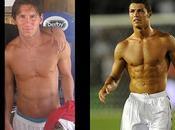 Comparaison force musculaire (stars Barcelona réal Madrid)