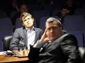 Echecs Londres Svidler Carlsen