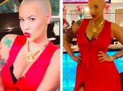 Amber rose sexy formes semaines apres l'accouchement