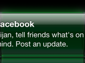 Facebook notifications pour vous inciter poster statut