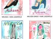 Melissa Karl Lagerfeld, images collaboration
