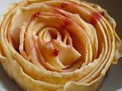 Vieux parchemins pommes-fleurs gelée groseille