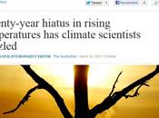 Climat pourquoi réchauffement est-il pause depuis