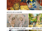 Galerie ROUSSARD exposition collective chat Steinlen force expressionniste Sophie Rambert