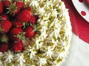 Gâteau diplomate fraises