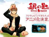 L'anime Silver Spoon, daté Japon
