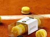 macarons balle tennis pour Roland Garros