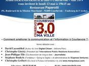 Réunion débat lundi Comment améliorer communication l'information Courbevoie