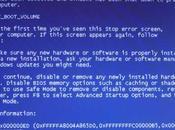 écrans bleus mort BSOD cause d'un patch sécurité Windows