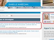 Chloé Sainte-Marie, Isabelle Maréchal et... Moi!