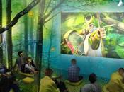 salle cinéma éphémère perchée dans arbres pour film EPIC