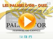 quiz samedi minuit Palmes d'or Cannes