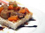 Sauté porc cannelle raisins secs