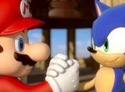 Mario Sonic prend envol
