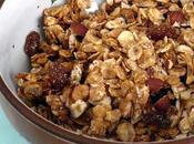 Céréales pour petit déjeuner maison Granola