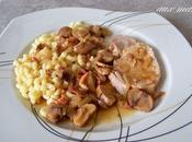 Rôti porc marrons